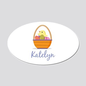 Easter Basket Katelyn Wall Decal