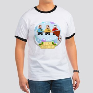 Star Trek Merry Christmas Cake T-Shirt