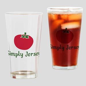 JT-002Wsc_JerseyTomato Drinking Glass