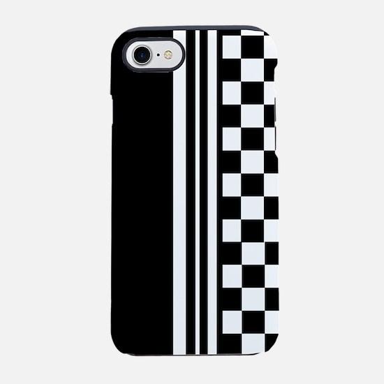 Stylish designer Stripes and c iPhone 7 Tough Case