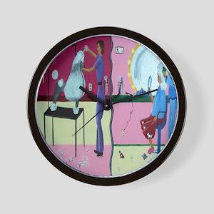 Grooming Salon Wall Clock