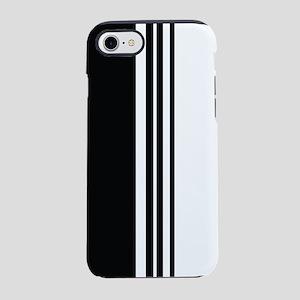Stylish Black and white modern iPhone 7 Tough Case