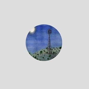 Oklahoma Windmill Mini Button