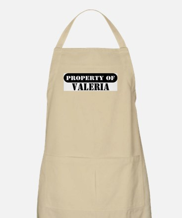 Property of Valeria BBQ Apron