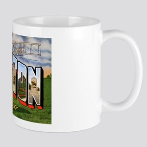 Dayton Ohio Greetings Mug