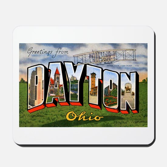 Dayton Ohio Greetings Mousepad