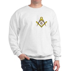 The Master Masons Square and Compasses Sweatshirt