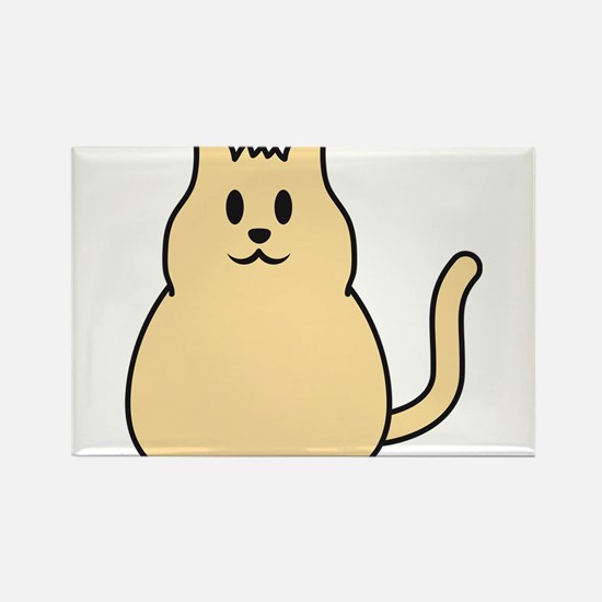cute_cat Rectangle Magnet