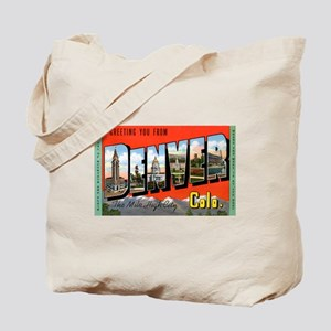 Denver Colorado Greetings Tote Bag