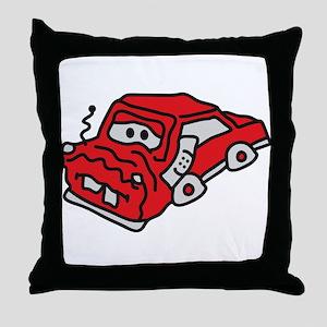 auto_accident Throw Pillow