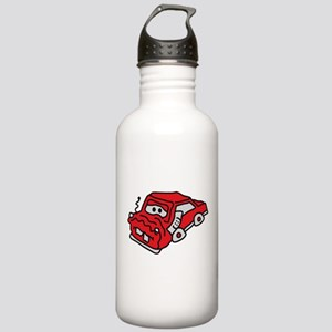 auto_accident Water Bottle