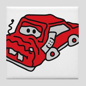 auto_accident Tile Coaster