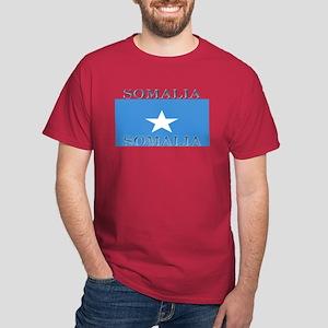 Somalia Somali Flag Red T-Shirt