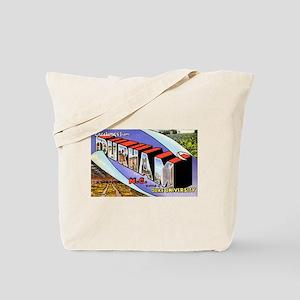 Durham North Carolina Tote Bag