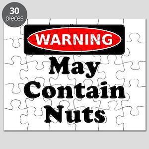 Warning May Contain Nuts Puzzle