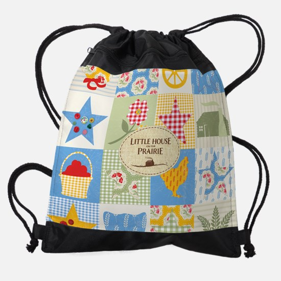 Little House on the Prairie Calenda Drawstring Bag