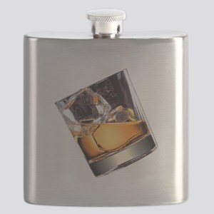 Whisky on the Rocks Flask