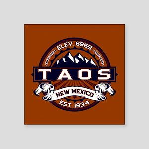 "Taos Vibrant Square Sticker 3"" x 3"""