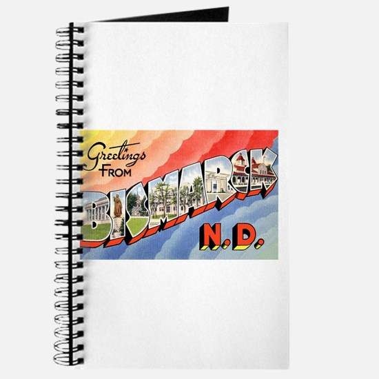 Bismarck North Dakota Greetings Journal
