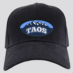 Taos Blue Black Cap