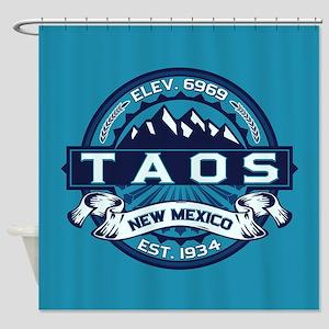 Taos Ice Shower Curtain