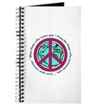 Christian Peace Sign Journal