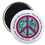 Christian Peace Sign Magnet