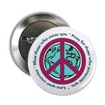Christian Peace Sign Button
