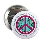 Christian Peace Sign Button