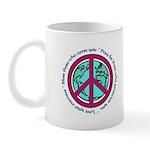 Christian Peace Sign Mug