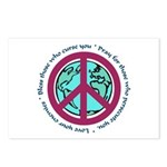 Christian Peace Sign Postcards (Package of 8)