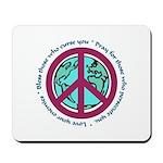 Christian Peace Sign Mousepad