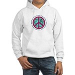 Christian Peace Sign Hooded Sweatshirt