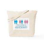 More Dangerous Than Jihadists Tote Bag