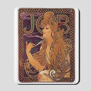 Mucha Poster Job Paris Art Nouveau Mousepad