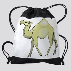 Camel Drawstring Bag
