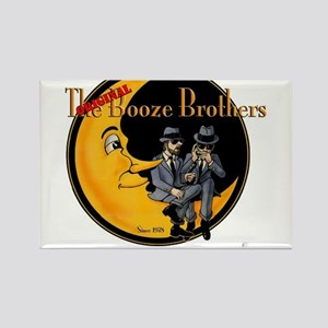 The Original Booze Brothers Rectangle Magnet