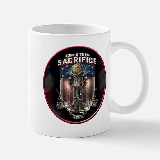 01026 HONOR THEIR SACRIFICE Mug