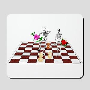 Chess Skeletons Mousepad