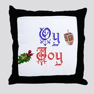 Chrismukkah Throw Pillow