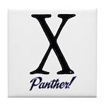 Panther fur Tile Coaster