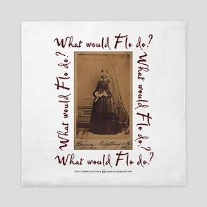 What would Flo Do? Queen Duvet