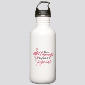 Be A Flamingo Stainless Water Bottle 1.0L