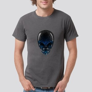 Alien Skull Mens Comfort Colors Shirt