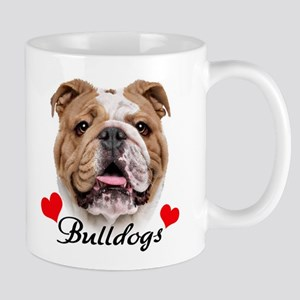 Love English Bulldog Mug