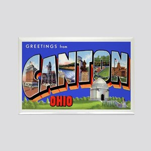 Canton Ohio Greetings Rectangle Magnet