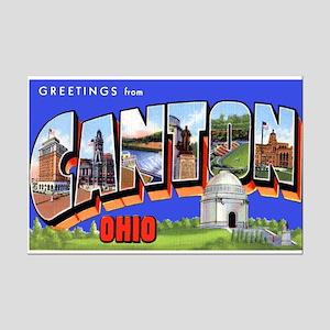 Canton Ohio Greetings Mini Poster Print