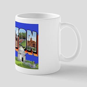 Canton Ohio Greetings Mug