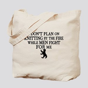 GOT I Don't Plan On Knitting Tote Bag