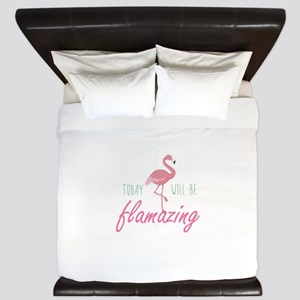 Today Will Be Flamazing King Duvet